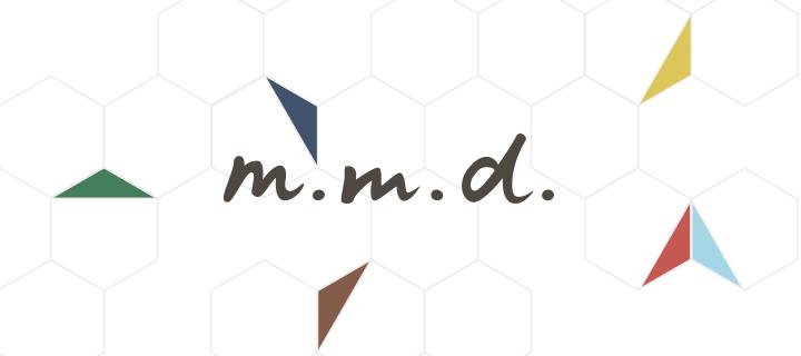m.m.d.ブランドロゴ